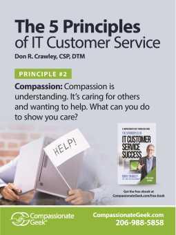 it service compassion poster